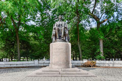 Abraham Lincoln statue in Grant Park Stock Photography