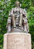 Abraham Lincoln Statue in Grant Park, Chicago Stock Image