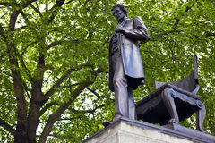 Abraham Lincoln Statue i London Royaltyfria Bilder