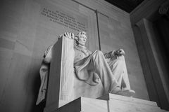 Abraham Lincoln statue Royalty Free Stock Photos