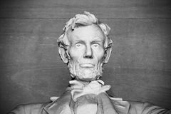 Abraham Lincoln statue Royalty Free Stock Photo