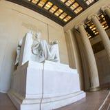 Abraham Lincoln statue Stock Photo
