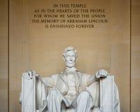 The Lincoln Memorial in Washington D.C., USA Stock Image