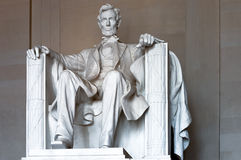 Abraham Lincoln statue Stock Image