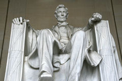 Abraham Lincoln Statue Stock Photography