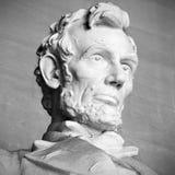 Abraham Lincoln staty Royaltyfria Bilder