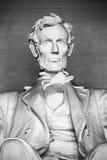 Abraham Lincoln staty Arkivbilder