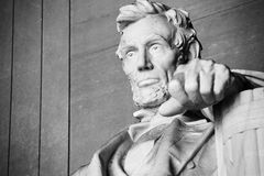 Abraham Lincoln staty Royaltyfri Fotografi