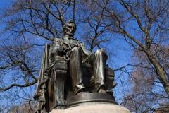 Abraham Lincoln staty Arkivbild