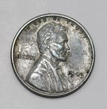 1943 Abraham Lincoln Steel Penny Royalty Free Stock Photo