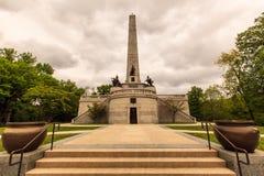 Abraham Lincoln tomb Royaltyfri Foto