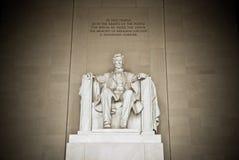 Abraham- Lincolndenkmal Stockfotos