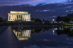 Abraham- Lincolndenkmal Lizenzfreies Stockfoto