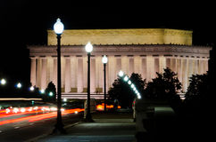 Abraham- Lincolndenkmal, Washington DC USA Stockfotografie