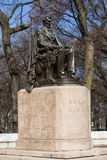 Abraham- Lincolnstatue Stockfoto