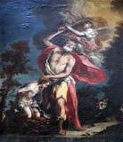 Abraham Sacrificing Isaac Royalty Free Stock Image
