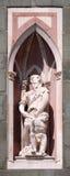 Abraham Sacrificing Isaac Florence Cathedral Royaltyfri Foto