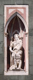 Abraham Sacrificing Isaac, Florence Cathedral Royalty Free Stock Photos