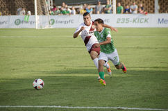 Abraham Villon of Oklahoma Energy FC vs Republic FC Royalty Free Stock Photo