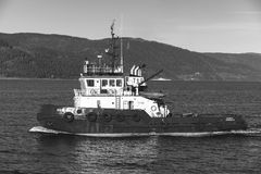Abramis tug boat, Trondheim Royalty Free Stock Photography