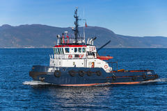 Abramis Tug boat with white superstructure Royalty Free Stock Images