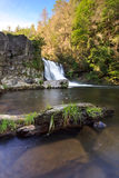 Abrams Fall, the Great Smoky Mountains National Pa Royalty Free Stock Photos