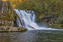Abrams Falls At Cades Cove Stock Photos
