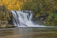 Abrams Falls At Cades Cove Royalty Free Stock Photography