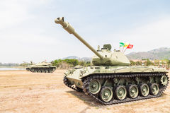 abrams m1坦克 库存图片