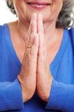 Abrandamento com a meditação Imagens de Stock Royalty Free