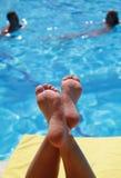 Abrandamento em férias Fotos de Stock Royalty Free