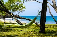 Abrandamento na praia foto de stock royalty free
