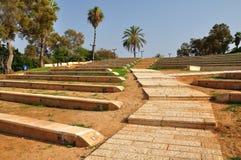 abrashajaffa park Royaltyfri Foto