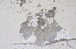 Abrasión blanca del color de la pared imágenes de archivo libres de regalías