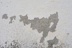 Abrasión blanca del color de la pared fotografía de archivo libre de regalías