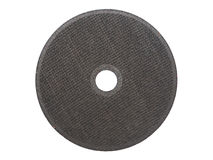 Abrasive cut-off wheel for ferrous metals Royalty Free Stock Images