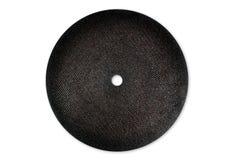 Abrasive cutting black discs Royalty Free Stock Photo