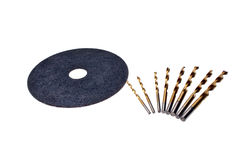 Abrasive disc Royalty Free Stock Images