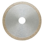 Abrasive disc for metal cutting Royalty Free Stock Photo
