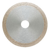 Abrasive disc for metal cutting Stock Images