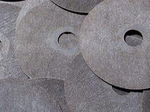Abrasive discs Royalty Free Stock Image