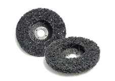 Abrasive discs isolated Stock Images