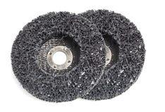 Abrasive discs isolated Stock Image