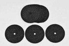 Abrasive disk Royalty Free Stock Photography