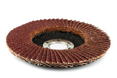 Abrasive disk for grinder. Stock Photos