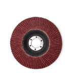 Abrasive disk for grinder Stock Photo