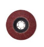Abrasive disk for grinder Stock Photo