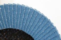 Abrasive disk for grinding stock image