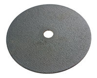 Abrasive disk for metal cutting Royalty Free Stock Photography