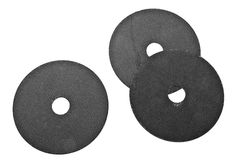Abrasive disk for metal cutting Stock Images